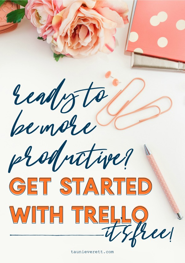 Getting started with trello © tauni everett