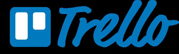 Trello logo blue