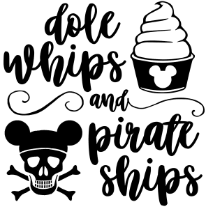 Dole whips pirate ships