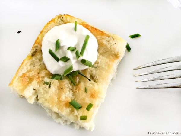 Hatch chile egg bake breakfast casserole © tauni everett 6 600