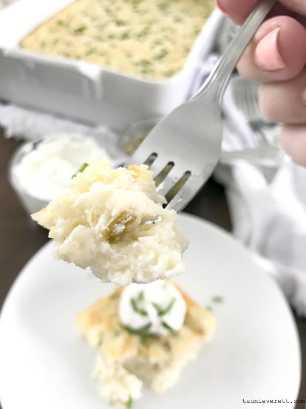 Hatch chile egg bake easy breakfast casserole 4 600