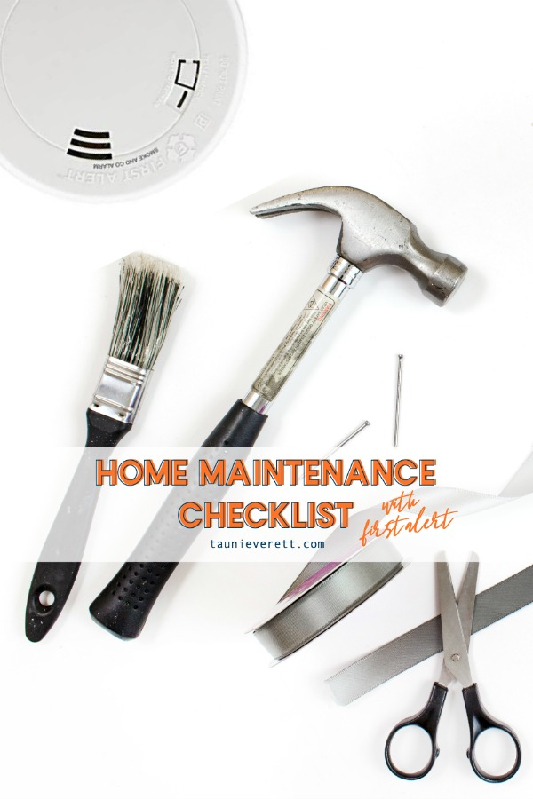Home maintenance check list © tauni everett hero