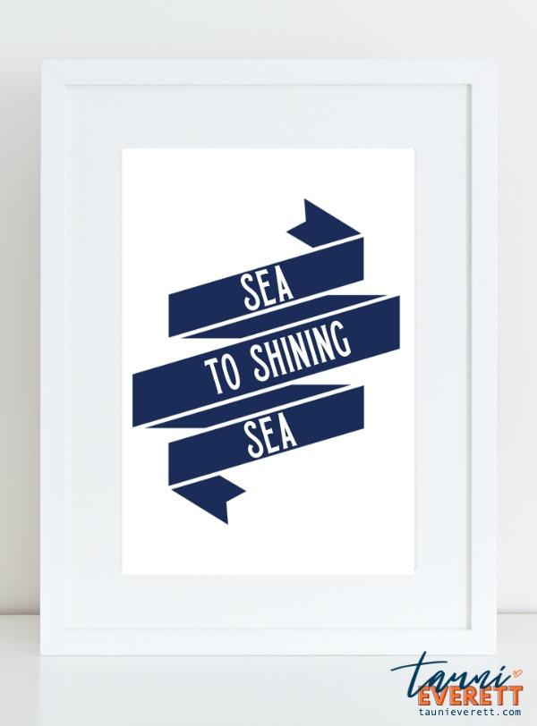 Nautical Fourth of July Printable #printable #fourthofjuly #freedownload