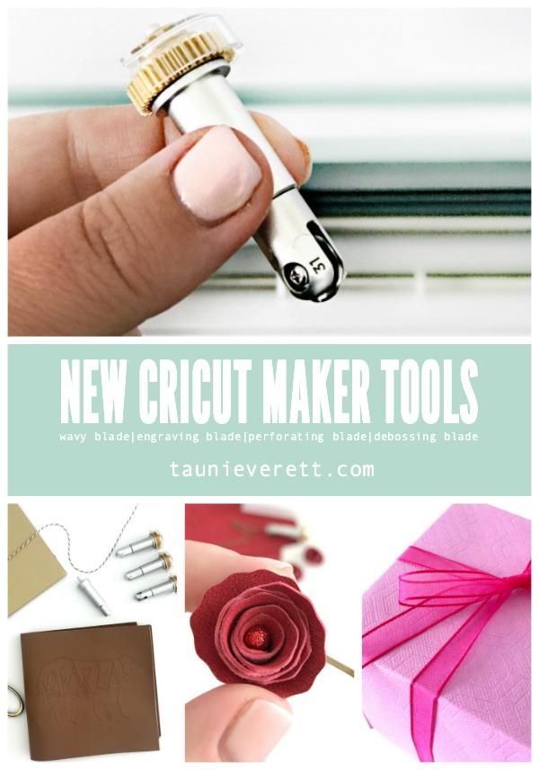 New cricut maker tools overview