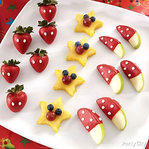 Mickey and Minnie Snacks