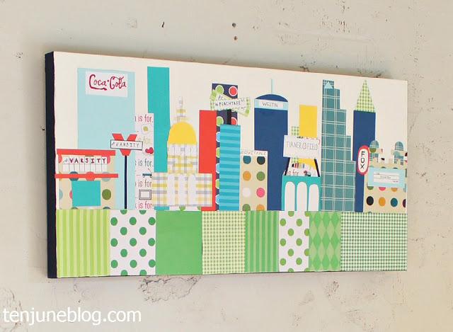 12 Ways to Decorate with Scrapbook Paper - So You Think You\'re Crafty