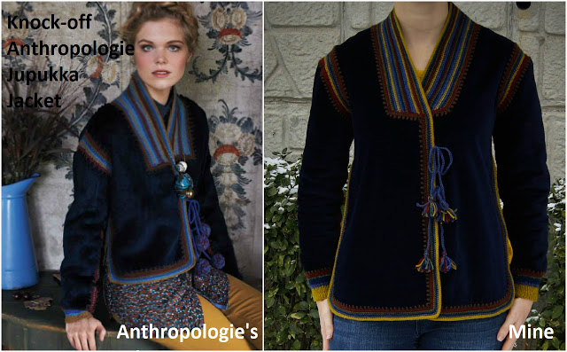 Anthropologie Jacket Knock Off - Catherine