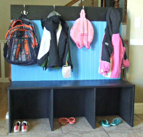 Back to School Bench Organizer