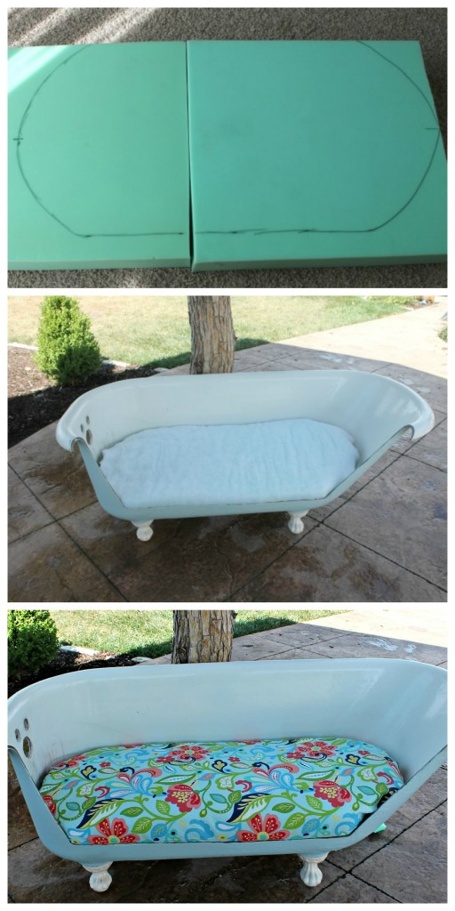 Bathtub to Sofa Tutorial