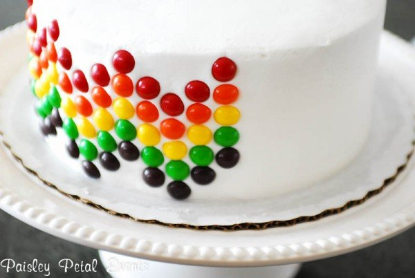 Easy Rainbow Birthday Cake Tutorial