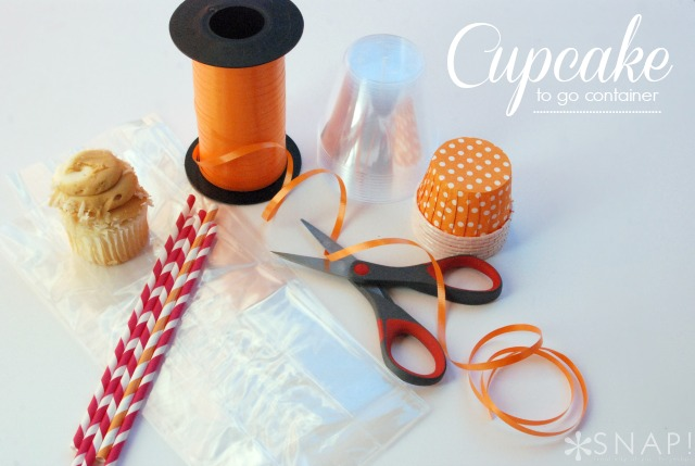 cupcake to go containers - perfect for keeping crumbs in check