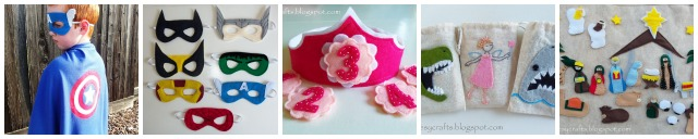 Felt Cutesy Crafts