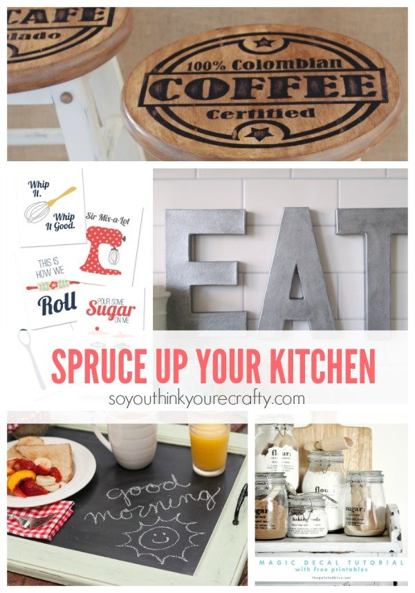 10 Diy Kitchen Decor Projects So You Think You 39 Re Crafty