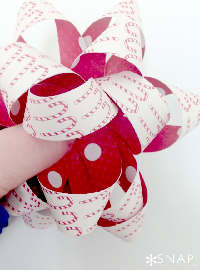 DIY Paper Bow 11