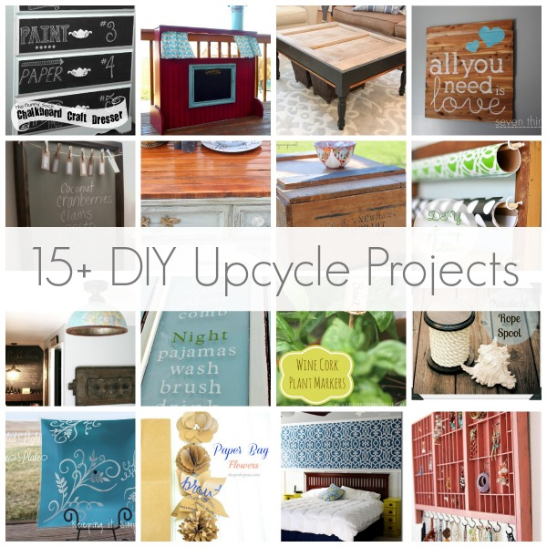 15 diy upcycle projects so you think you 39 re crafty. Black Bedroom Furniture Sets. Home Design Ideas