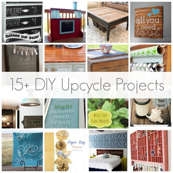 15+ DIY Upcycle Projects