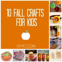 10 Fall Crafts for Kids via SYTYC
