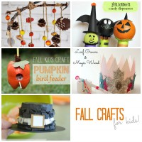 Fall Crafts for Kids Collage