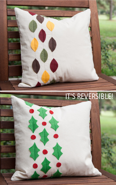 Reversible Pillow Case