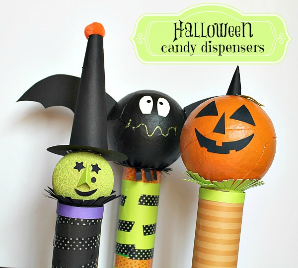 Halloween Candy Dispenser