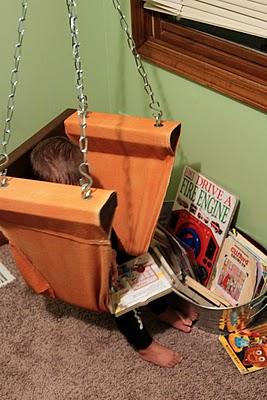 Hanging Chair via SugarBee Crafts