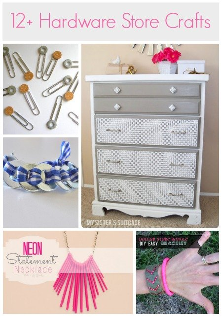 Hardware store craft projects