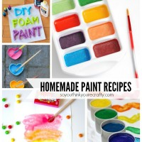 Homemade Paint Recipes Feature