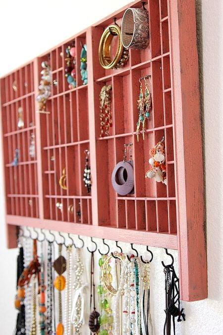 Jewelry Organizer via tonya Staab