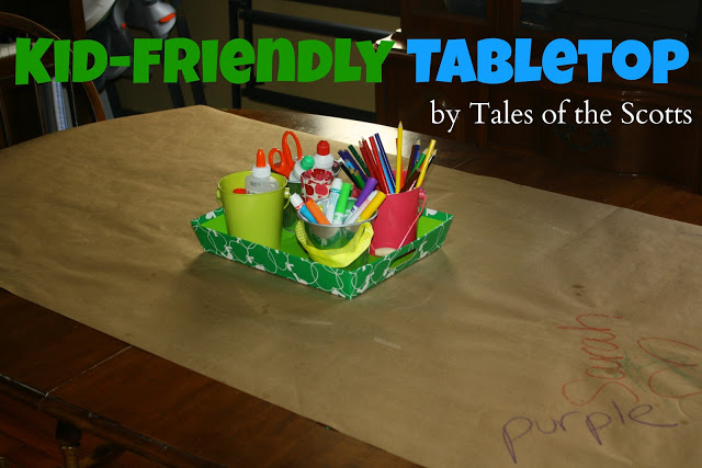 Kid-Friendly Tabletop - The Tales of the Scotts