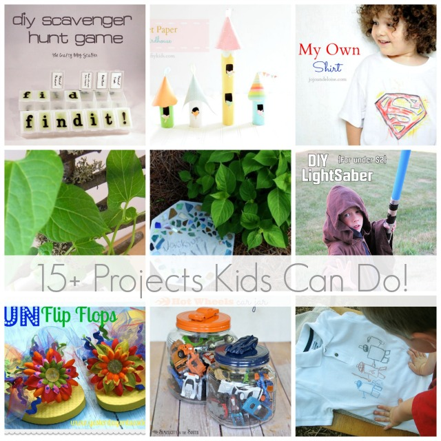 15+ Projects Kids Can Do