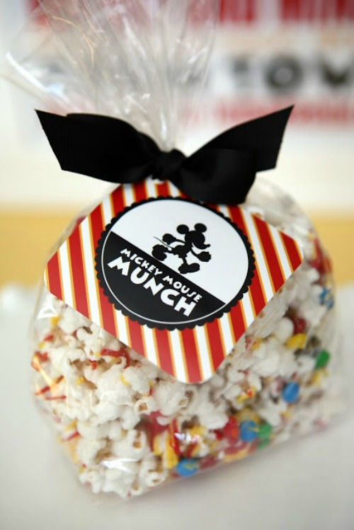 Mickey Munch. 15 Mickey and Minnie Mouse Craft Projects - So many fun ideas here. Great for trips to Disney or at-home parties.