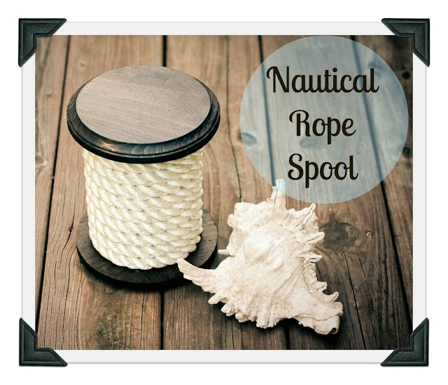 Nautical Rope Spool