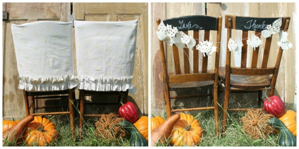 Upcycled Rustic Chair