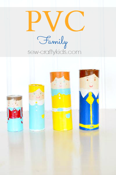 PVC Kids Craft via Sew Crafty Kids