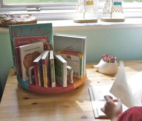 PVC Merry Go Round Bookshelf