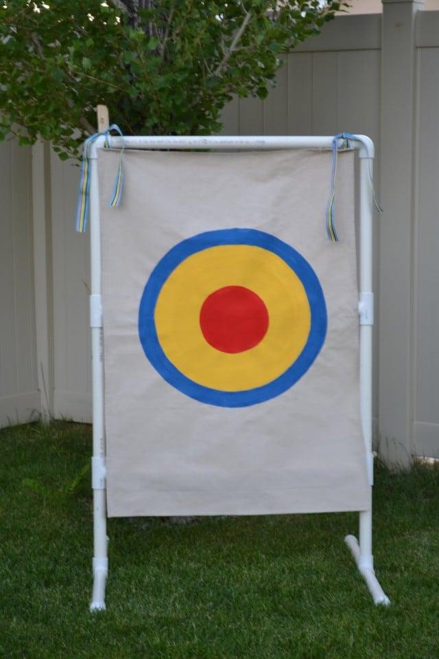 PVC Target Game via Simple Simon & Co