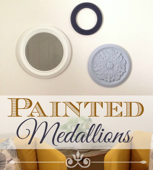 Painted Medallion Focus Wall