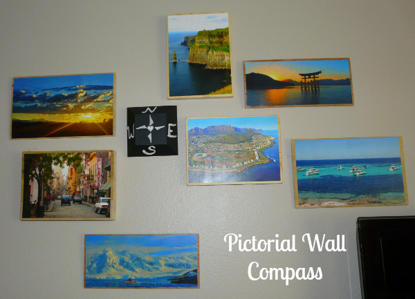 Photo Wall Compass