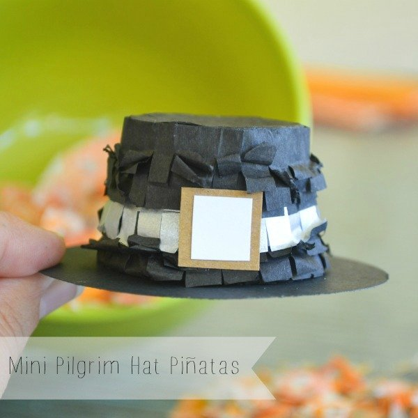 Thanksgiving Pilgrim Hat Pinata