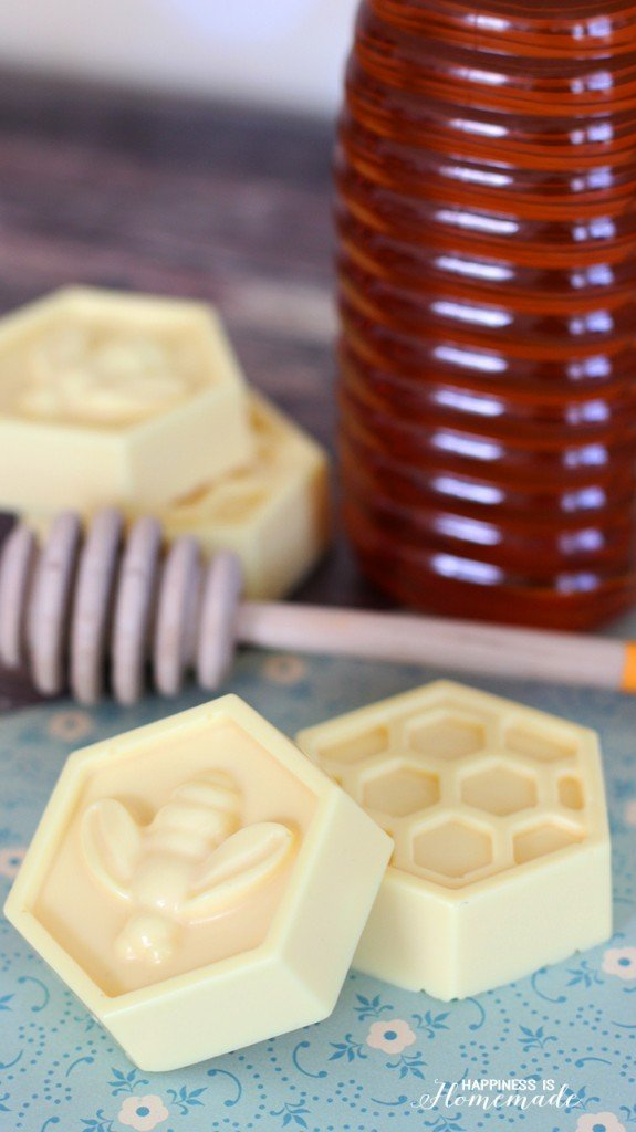 DIY Milk and honey soap