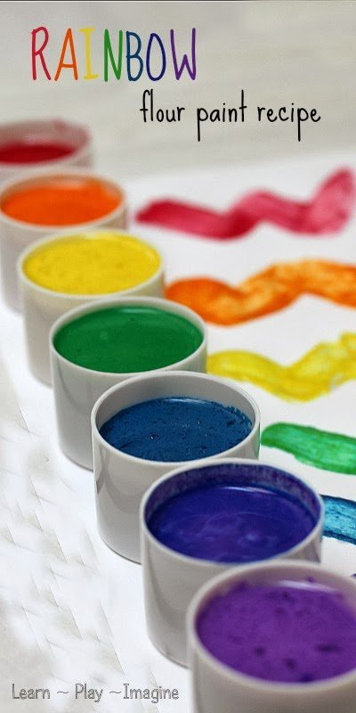 Rainbow Flour Paint Recipe (1)