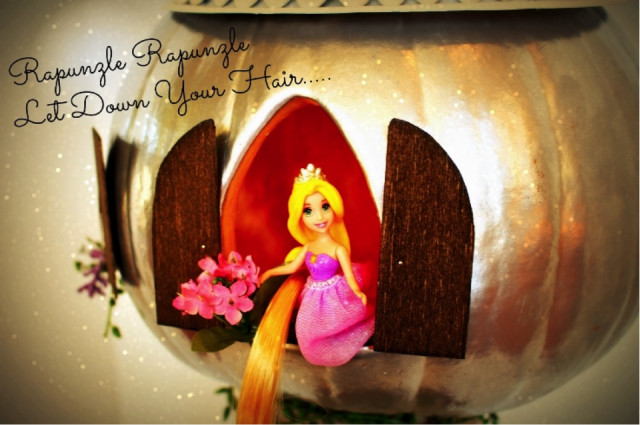 Rapunzel Pumpkin Tower Tutorial