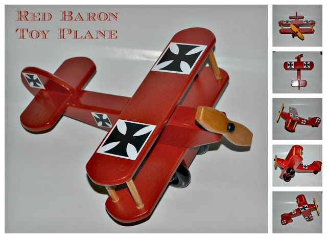 Red Baron Toy Plane - Kim