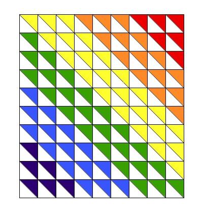 Rainbow Baby Quilt Tutorial