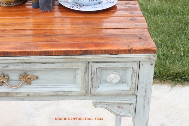 Sewing Table Update via Redoux Interiors