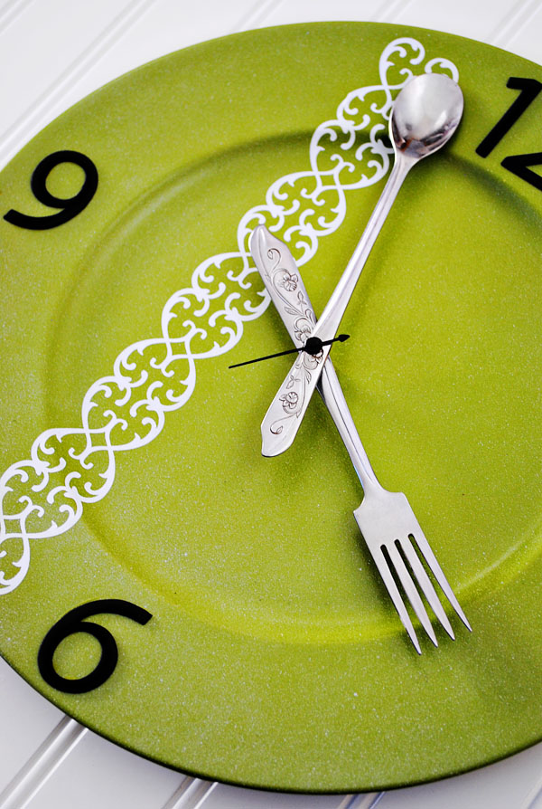 Silverware Kitchen Clock