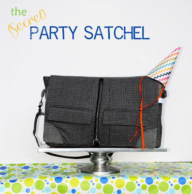 THe (secret) party satchel - Heidi