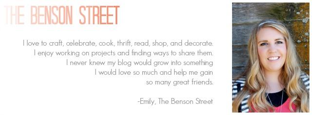 The Benson Street Quote