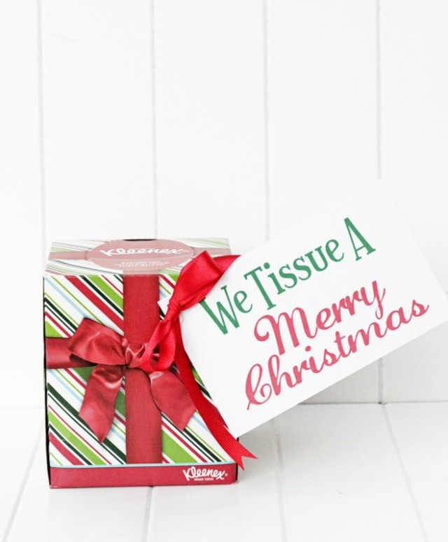 We Tissue a Merry Christmas. Plus a bunch of other great Christmas gift ideas.