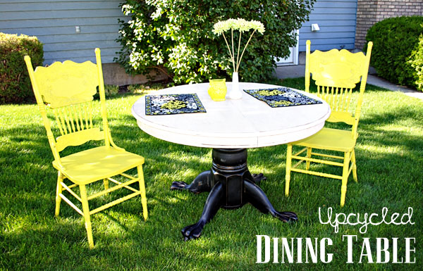Upcycled Dining Table